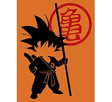 Goku with tail Photographic Print