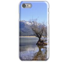 Willow Trees of Glenorchy, NZ iPhone Case/Skin