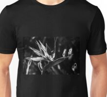 Birds of Paradise in Monochrome T-Shirt