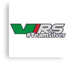 #TeamSilver Canvas Print