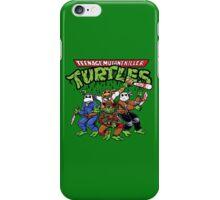 Killer Turtles iPhone Case/Skin