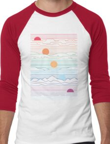 Many Lands Under One Sun Men's Baseball ¾ T-Shirt