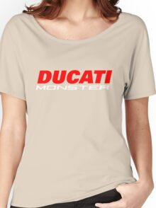 DUCATI MONSTER Women's Relaxed Fit T-Shirt