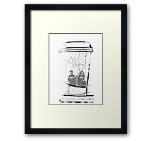It's Not About The Books Anymore Framed Print
