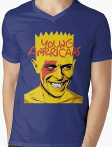 young americans of bowie Mens V-Neck T-Shirt