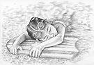 Swimming Girl by Nicole Zeug