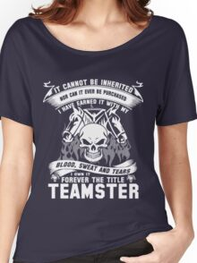 TEAMSTER Women's Relaxed Fit T-Shirt