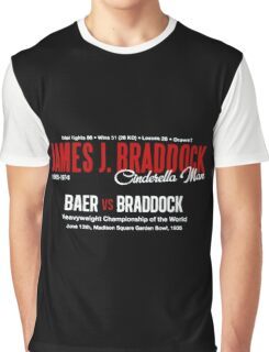 James Braddock Cinderella Man Graphic T-Shirt