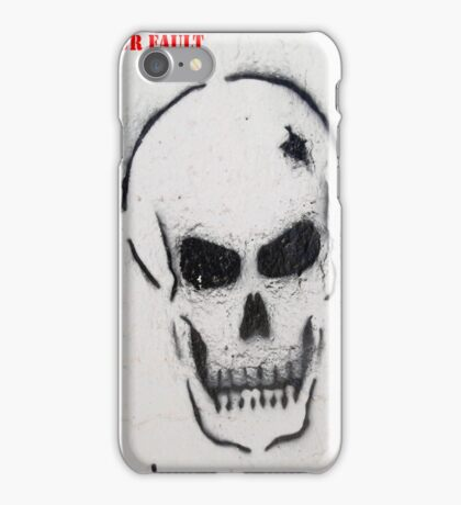 Message 11 iPhone Case/Skin