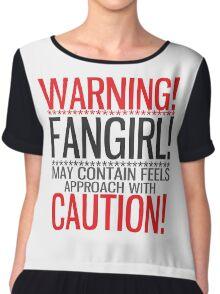WARNING! FANGIRL (II) Chiffon Top