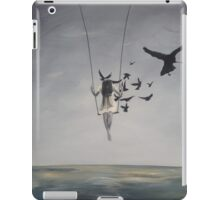 Trees and flowers and some sunlight iPad Case/Skin