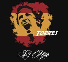 SPAIN FERNANDO TORRES WC 14 FOOTBALL T-SHIRT by sportskeeda