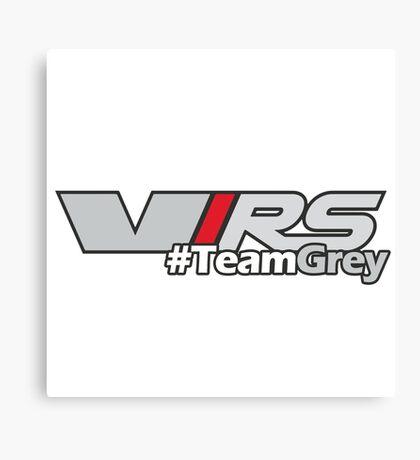 #TeamGrey(V) Canvas Print
