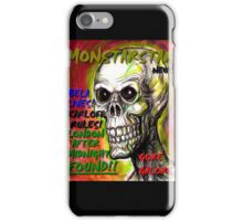 big monsterstar news iPhone Case/Skin