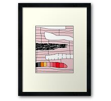Abstract design by Moma Framed Print
