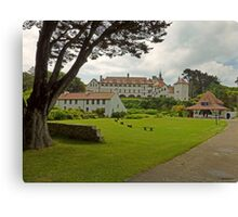 The Monastery at Caldey Island, Pembrokeshire Canvas Print