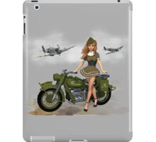 Spitfire Pin Up Art iPad Case/Skin