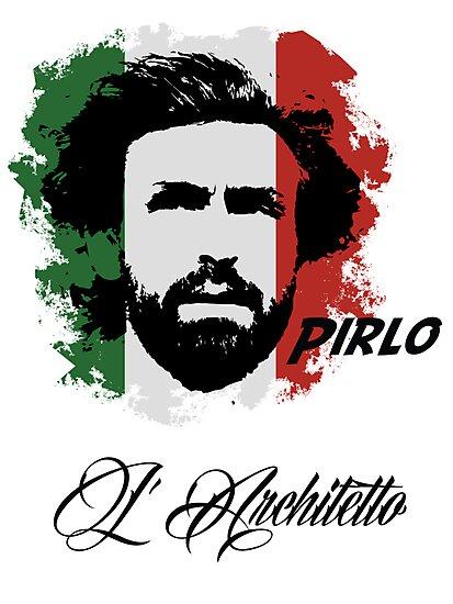 ITALIA ANDREA PIRLO WC 14 FOOTBALL T-SHIRT by sportskeeda
