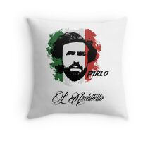 ITALIA ANDREA PIRLO WC 14 FOOTBALL T-SHIRT Throw Pillow