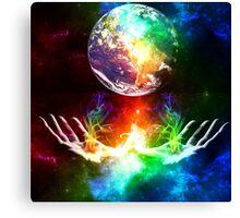 The World Rainbow Canvas Print