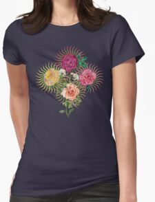 Heavenly Roses Womens Fitted T-Shirt