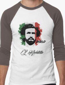ITALIA ANDREA PIRLO WC 14 FOOTBALL T-SHIRT Men's Baseball ¾ T-Shirt