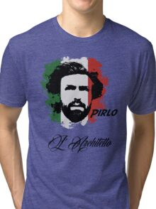 ITALIA ANDREA PIRLO WC 14 FOOTBALL T-SHIRT Tri-blend T-Shirt