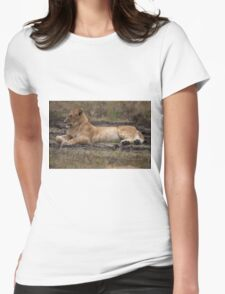 The Lioness Womens Fitted T-Shirt