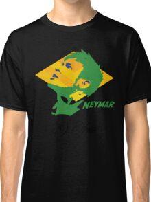 BRAZIL NEYMAR JR. WC 14 FOOTBALL T-SHIRT Classic T-Shirt