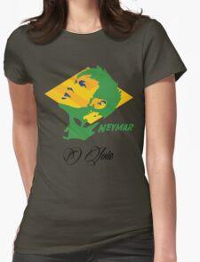BRAZIL NEYMAR JR. WC 14 FOOTBALL T-SHIRT Womens Fitted T-Shirt