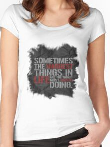 Castle-isms #1 Women's Fitted Scoop T-Shirt