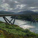 The Kylesku Bridge by Jamie  Green