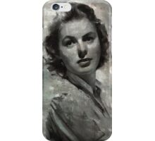 Ingrid Bergman by MB iPhone Case/Skin