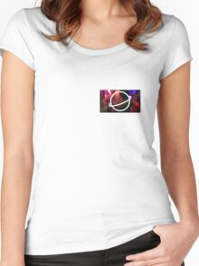 PSYCHEDELIC KIRSTEN Women's Fitted Scoop T-Shirt