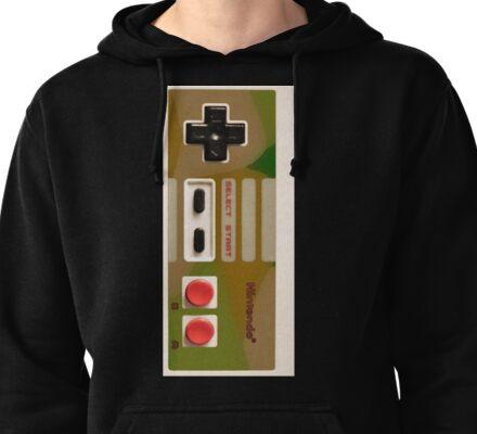 8 Bit Nintendo Camo controller Pullover Hoodie