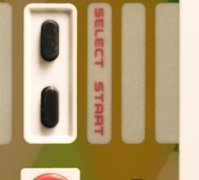 8 Bit Nintendo Camo controller Sticker