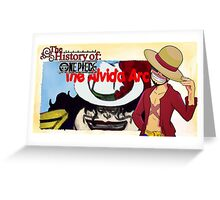 History Of One Piece: The Alvida Arc Greeting Card