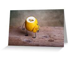 Simple Things - Headless Lemon Greeting Card