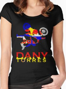 X Fighters - Dany Torres Women's Fitted Scoop T-Shirt