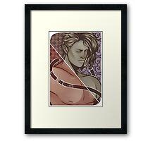 Tarot card boy. Framed Print