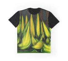 Leaves in abstract Graphic T-Shirt