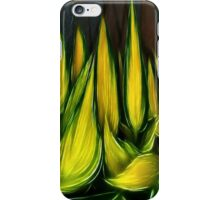 Leaves in abstract iPhone Case/Skin
