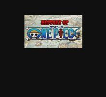 History Of One Piece Logo Unisex T-Shirt