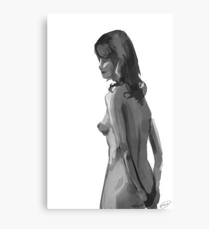 Nude 001 Canvas Print