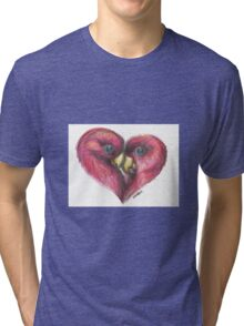 Love birds Tri-blend T-Shirt