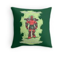 You face Jaraxxus! Throw Pillow