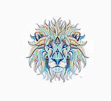 Ethnic Blue Lion Unisex T-Shirt