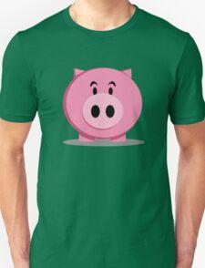 pink fat pig T-Shirt