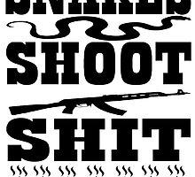 Snakes Shoot Shit by FeralFerret