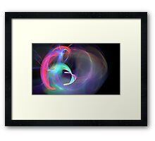 A Gift From A Flower Framed Print